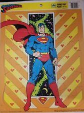 1989 SUPERMAN GOLDEN Frame -Tray Puzzle TM & DC Comics EUC