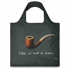 LOQI Artist Museum Collection Tote Bag 'The Treachery of Images' René Magritte