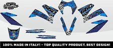 KIT ADESIVI GRAFICHE #CAMOSPLATTER BLUE KTM 660 SMC 2005 2006 2007 DEKOR