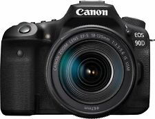 BRAND NEW Canon EOS 90D DSLR Digital Camera with EF-S 18-135mm Lens 3616C016