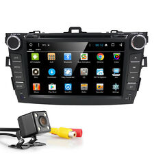 Quad Core Android 6.0 8'' Car Radio DVD GPS Player for Toyota Corolla 2007-2013