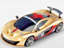 Rc 1/43 Radio Control Micro Rc McLaren P1 Gtr w/ Led Lights Gold