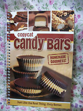 NEW COPYCAT CANDY BARS RECIPE COOK BOOK