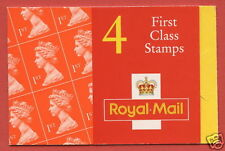 HB10a Without White Lines 4 x 1st Class NVI Booklet