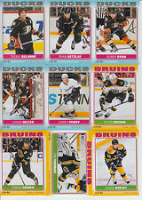 2012-13 OPC STICKERS COMPLETE SET 1-100