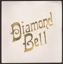 AUTHENTIC OLD DIAMOND BELL CIGAR EMBOSSED BOX LABEL * FREE USA SHIP * L67