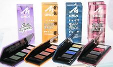 Manhattan ONLY Eyeshadow Quad Palette & Applicator Eye Shadow Kit Colour Make Up