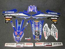 Yamaha YZF250 YZF450 2014-2017 Star Racing USA Team graphics + plastics GR005