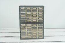 Vintage Parts Drawers Akro Mils Industrial Parts Bins Metal Storage 48 Drawers
