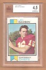 1973 Topps ~ Len Dawson ~ Kansas City Chiefs ~ #335 ~ BVG 4.5