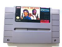 Lethal Weapon SUPER NINTENDO SNES GAME Tested + Working & Authentic