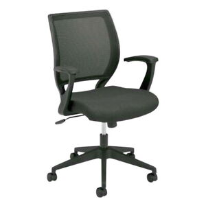Basyx HVL521 Work Chair, Mesh Back