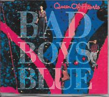 BAD BOYS BLUE - Queen of hearts CDM 4TR Synth-Pop Euro Disco 1990 (COCONUT)