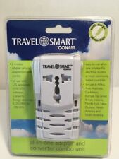 Travel Smart by Conair All-In-One Adapter Combo Unit 220/240V - 110/120V