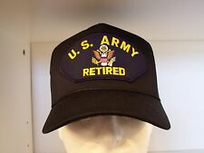 #1367 US Army Retired Cap Ballcap Hat