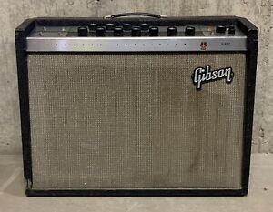 Vintage 1965 Gibson GA-30RVT Invader Amp!