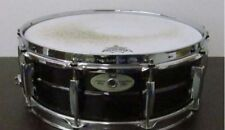 "Used! PEARL STE1450BR Black Nickel Brass Snare Drum 14""x5"""