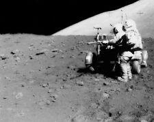 Apollo 15 Astronaut James Irwin mit Lrv 8x10 Silber Halogen Fotodruck