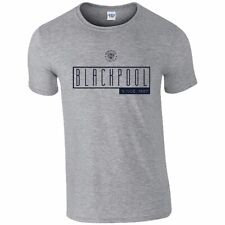 Blackpool F.C - Personalised Mens T-Shirt (ART DECO)