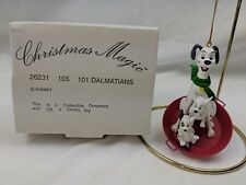 Disney Grolier 101 Dalmatians Christmas Ornament Christmas Magic in Box