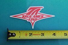 True Ames Fins Longboard Singlefin Surfboards Surf Fusion Surfing Sticker