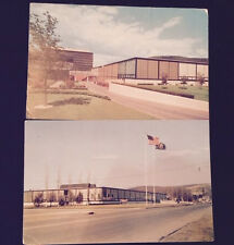2 Vintage Postcards of The CORNING MUSEUM OF GLASS Corning NEW YORK free ship