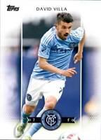 2017 Topps MLS Base #100 David Villa New York City FC