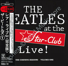 BEATLES LIVE AT THE STAR CLUB vol.1 CD MINI LP OBI Harrison Lennon McCartney new