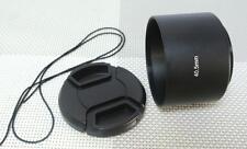 40.5 mm Metal Camera Lens Hood + 49 mm Cap for Tele Lens 40.5TC49