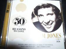 Tom Jones 50 Reason To Love 3 CD – New (Not Sealed)