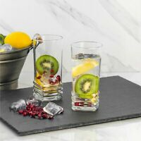 Drinking Glasses Set of 6, Durable Water and Juice Drinking Tumbler,11.2 Ounces