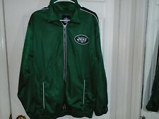 New York Jets Zip Up Jacket Men's Size Small