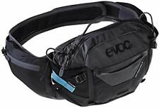 Evoc Hip Pack Pro 3 + 1.5L Cycling Hydration Pack - Black/Carbon Grey