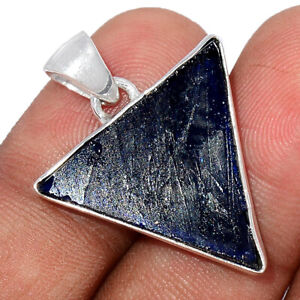 Ancient Roman Glass 925 Sterling Silver Pendant Jewelry BP92074