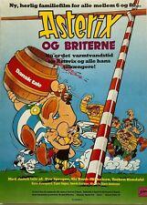 Astérix Chez Les Breton Danish Voice Ove Sprogøe 1988 Danish Movie Press Release