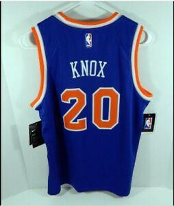FANATICS  Sz MEDIUM FAST BREAK NBA NEW YORK KNICKS KEVIN KNOX BLUE JERSEY