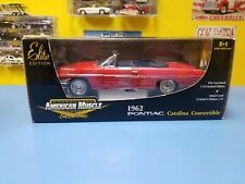 """AMERICAN MUSCLE ERTL 1962 PONTIAC CATALINA  CONVERTIBLE   """"RED""""   NEW"""