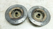 04 Arctic Cat 650 V-2 4x4 FIS atv front brake rotors and hubs wheel rim mount