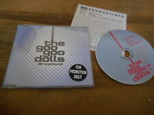 CD Pop Goo Goo Dolls - Broadway (3 Song) MCD EDEL REC sc Presskit