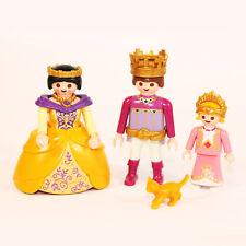 Playmobil Familie König + Königin + Prinz + Tier Ritterburg 4865 3268 4250 PK133