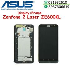 LCD ASUS ZENFONE 2 LASER ZE600KL Z00MD FRAME TOUCH SCREEN VETRO SCHERMO DISPLAY