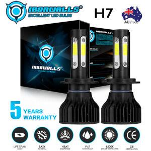 4Side H7 LED Headlight Globes White for Hyundai i30 FD 2007–2012 GD YF 2012-2016