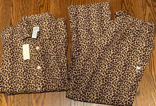 GAP Body Womens Animal Print Pajamas Size M/XL New
