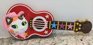 "Disney Junior Sheriff Callie's Wild West 16"" Strum & Star Guitar Lights Sounds"