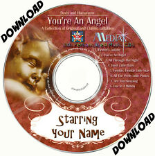 'YOU'RE AN ANGEL'  Personalised Music Album DOWNLOAD