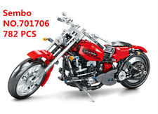701706 Sembo Blocks DIY Kids Building Toys Boys Puzzle Motorcycle Model Gift