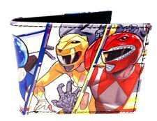 POWER RANGERS TEAM POSE GROUP PHOTO SUBLIMATED GRAPHIC PRINT MENS BIFOLD WALLET