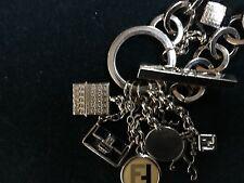Fendi Authentic  Charms  Bracelet