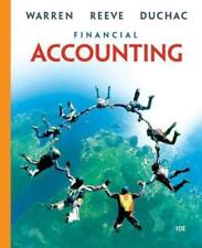 Financial Accounting by Carl S. Warren, James M. Reeve and Jonathan Duchac...