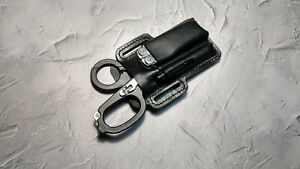EDC leather belt pouch custom.